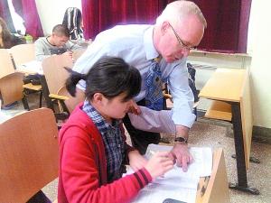 美国利伯缇(liberty)大学师生访问北京工商大学嘉华学院   北高清图片